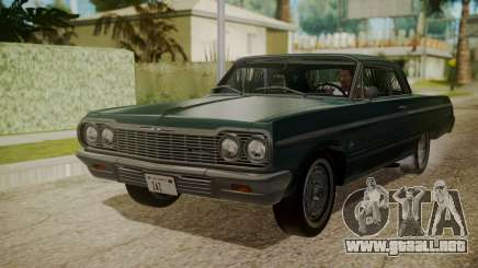 Chevrolet Impala SS 1964 Low Rider para GTA San Andreas