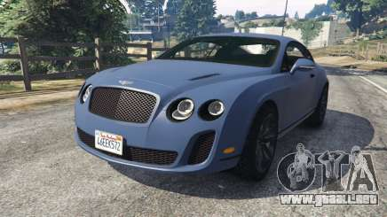 Bentley Continental Supersports [Beta2] para GTA 5