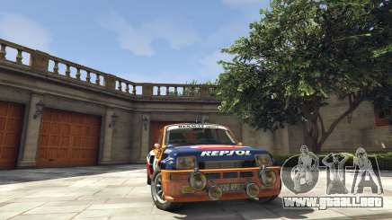 Renault 5 GT Turbo Rally para GTA 5