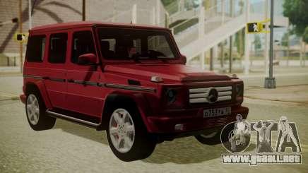 Mercedes-Benz G350 Bluetec para GTA San Andreas