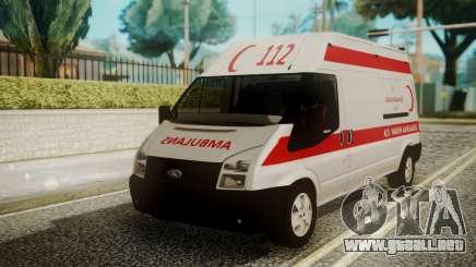Ford Transit Jumbo Ambulance para GTA San Andreas