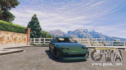 Nissan 240sx v1.0 para GTA 5