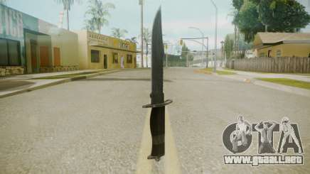 Atmosphere Knife v4.3 para GTA San Andreas