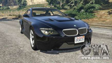 BMW M6 (E63) WideBody v0.1 para GTA 5