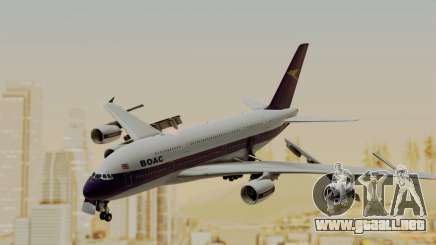 Airbus A380-800 British Overseas Airways Corp. para GTA San Andreas