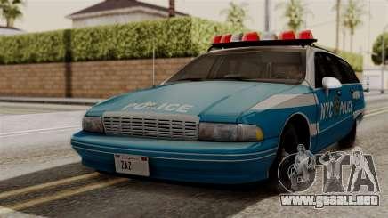 Chevy Caprice Station Wagon 1993-1996 NYPD para GTA San Andreas