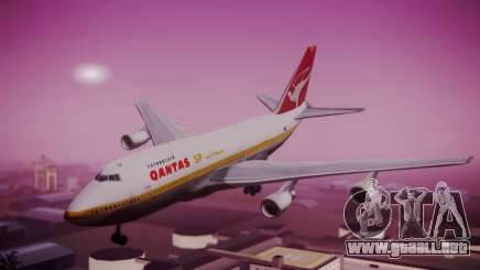 Boeing 747SP Qantas Gold para GTA San Andreas