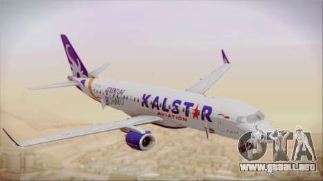 E-195 KalStar Aviation para la visión correcta GTA San Andreas