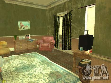 Apartamento de GTA IV para GTA San Andreas segunda pantalla