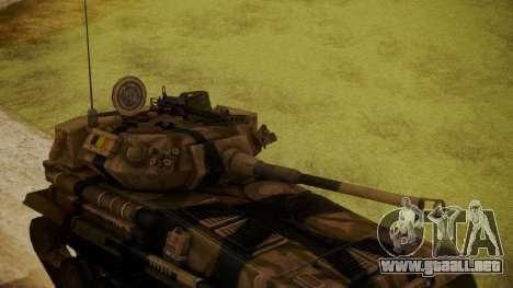 Alvis FV101 Scorpion para la visión correcta GTA San Andreas