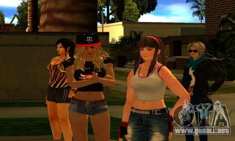 Womens Mega Pack by 7 Pack para GTA San Andreas tercera pantalla
