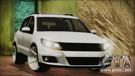 Volkswagen Tiguan Vossen Edition para GTA San Andreas left