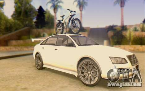 Obey Tailgater Special Tuning para GTA San Andreas