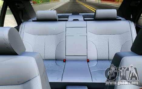 Mercedes-Benz W140 para la vista superior GTA San Andreas
