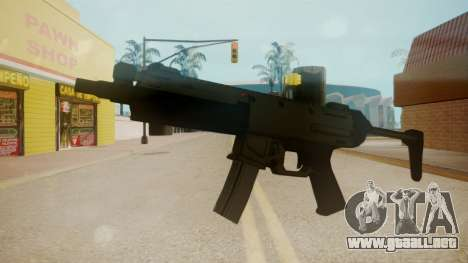 GTA 5 MP5 para GTA San Andreas