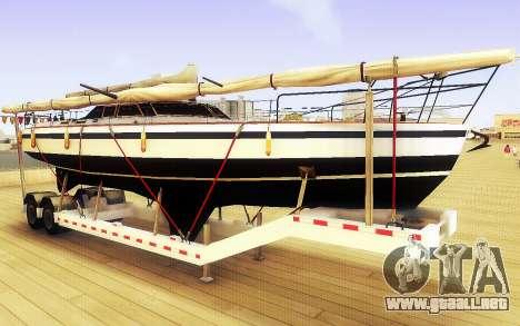 GTA V Gran Remolque del Barco para GTA San Andreas