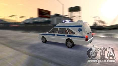 Daewoo-FSO Polonez de Carga de Ambulancias de 19 para GTA 4 vista desde abajo
