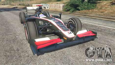 Hispania F110 (HRT F110) v1.1 para GTA 5