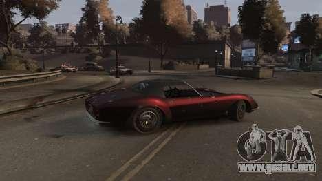 GTA V Stinger Classic para GTA 4 visión correcta