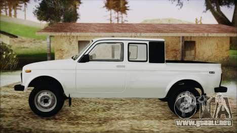 VAZ 2329 Niva 4x4 para GTA San Andreas vista posterior izquierda