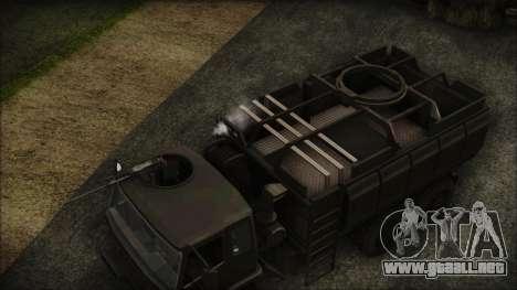 Archer Gun Truck para la visión correcta GTA San Andreas