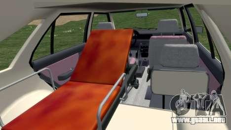 Daewoo-FSO Polonez de Carga de Ambulancias de 19 para GTA 4 vista interior