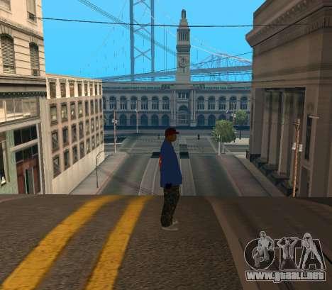 Super Emmet para GTA San Andreas segunda pantalla