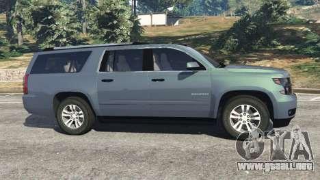 GTA 5 Chevrolet Suburban 2015 [unlocked] vista lateral izquierda