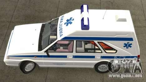 Daewoo-FSO Polonez de Carga de Ambulancias de 19 para GTA 4 left