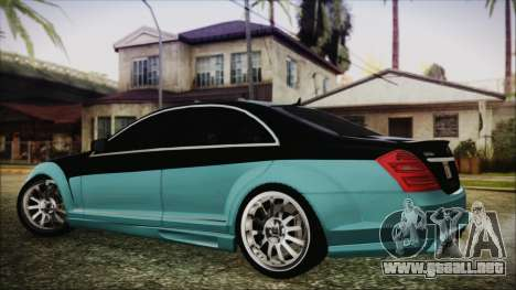 Carlsson Aigner CK65 RS v1 Headlights para GTA San Andreas left