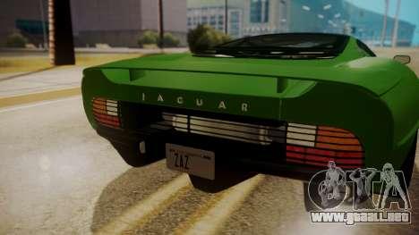 Jaguar XJ220 1992 FIV АПП para la visión correcta GTA San Andreas