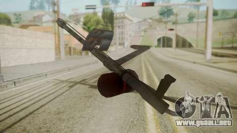 GTA 5 Flame Thrower para GTA San Andreas segunda pantalla