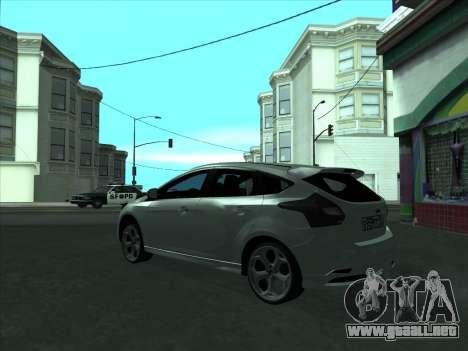 Ford Focus ST barbadas para la visión correcta GTA San Andreas