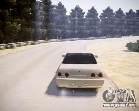 Nissan Skyline ER32 para GTA 4 visión correcta