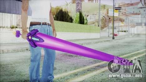 Gehaburn - Hyperdimension Neptunia MK2 para GTA San Andreas segunda pantalla