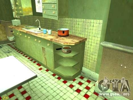 Apartamento de GTA IV para GTA San Andreas décimo de pantalla
