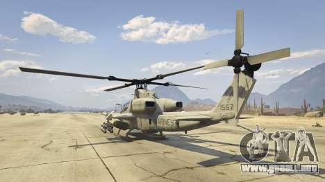 GTA 5 AH-1Z Viper cuarto captura de pantalla
