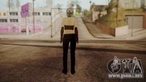 Jennifer para GTA San Andreas tercera pantalla