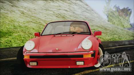 Porsche 911 Turbo 3.3 Coupe (930) 1986 para GTA San Andreas