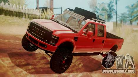 Ford F-350 2010 Lifted Sema Show para GTA San Andreas