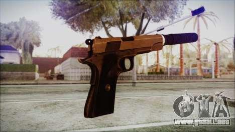 Original Colt 45 Silenced HD para GTA San Andreas tercera pantalla