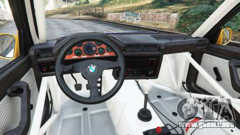 GTA 5 BMW M3 (E30) 1991 [Mingelo] v1.2 vista lateral derecha