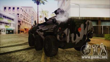 Norinco Type 92 from Mercenaries 2 para GTA San Andreas left