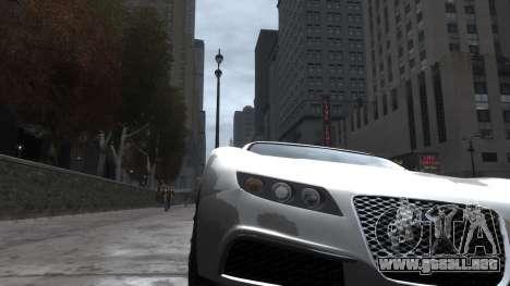Adder HQ from GTA 5 para GTA 4 vista hacia atrás