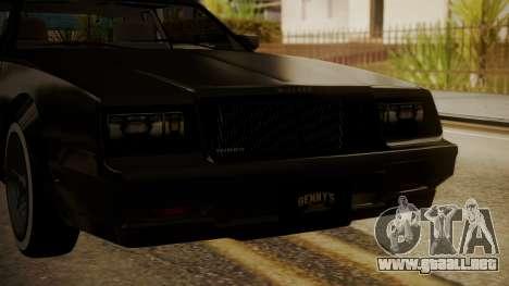 GTA 5 Faction Stock DLC LowRider para visión interna GTA San Andreas
