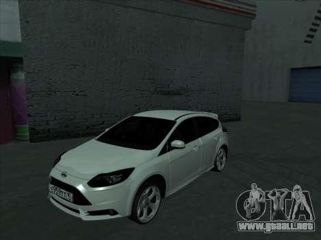 Ford Focus ST barbadas para GTA San Andreas