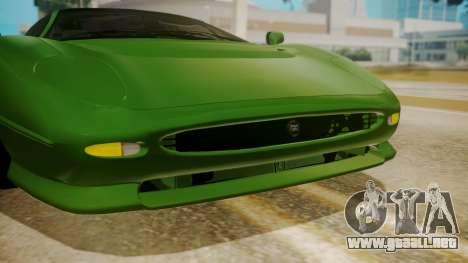 Jaguar XJ220 1992 FIV АПП para visión interna GTA San Andreas