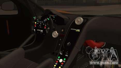 McLaren 650S GT3 2015 para la visión correcta GTA San Andreas