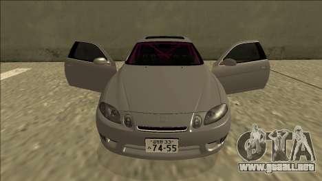 Lexus SC 300 Drift para la vista superior GTA San Andreas