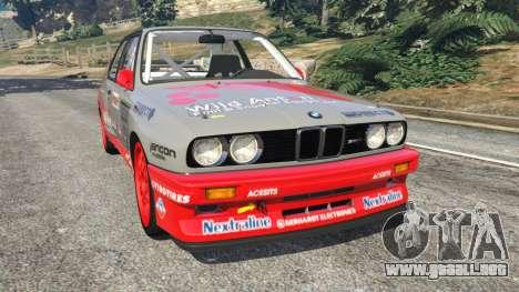BMW M3 (E30) 1991 [Wild Autonio] v1.2 para GTA 5